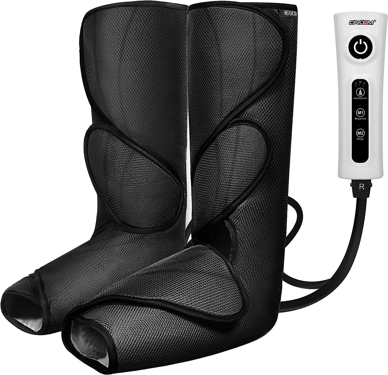 CINCOM 2 Modes & 3 Intensities Leg Massager $64.59 Coupon