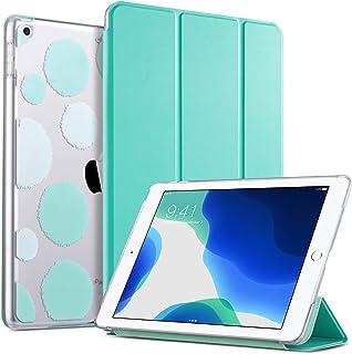 ULAK Funda para iPad 8ª Generación, iPad 7ª Generación Carcasa Función de Despertador Automático Magnético y Sueño Smart Cubierta Trifold Soporte Caso para Apple iPad 10.2 Pulgadas 2020/2019 - Menta