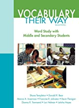 Words Their Way: Vocabulary for Middle and Secondary Students (2-downloads) (Words Their Way Series)