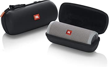 JBL Lifestyle Carry Case for Flip 4 Bluetooth Portable Speaker; Rugged EVA Shell with Weather Resistant Zippered Seal and Carabiner Style Clip (JBL-FLIP4-CASE)