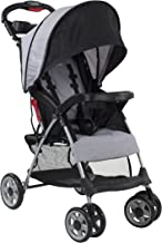 Kolcraft Cloud Plus Lightweight Easy Fold Compact Travel Stroller, Slate Grey