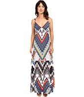 Christin Michaels - Chardonnay Maxi Dress