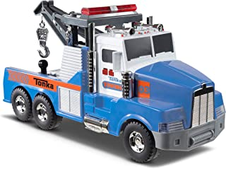 Tonka Mighty Motorized Tow Truck Toy Vehicle FFP