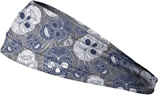JUNK Brands JUNK Brands Muertos Big Bang Lite Headband Muertos-BBL, Blue, One Size