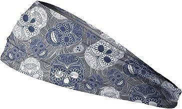 JUNK Brands Muertos Big Bang Lite Headband, Blue, One Size