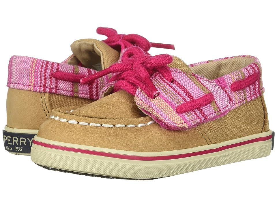 Sperry Kids Intrepid Crib Jr. (Infant/Toddler) (Linen/Pink) Girl