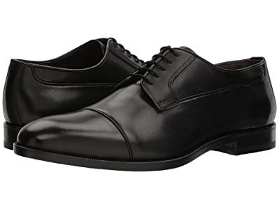 Canali Cap Toe Oxford (Black) Men