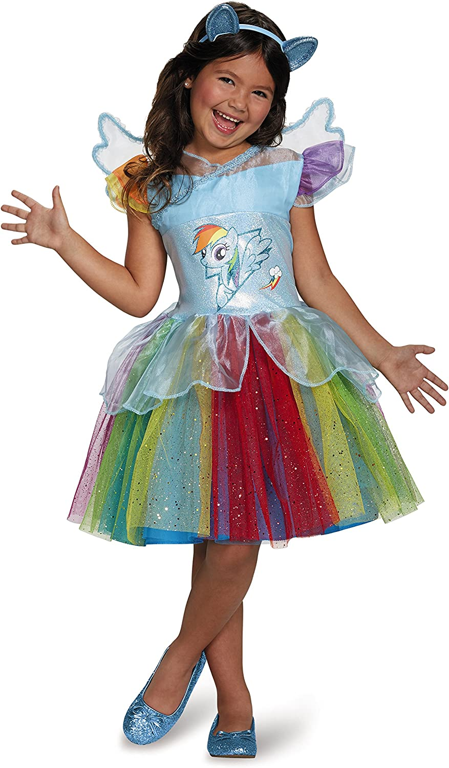 Disguise Rainbow Dash Tutu Deluxe My Little Pony Costume, XSmall 3T4T by Disguise