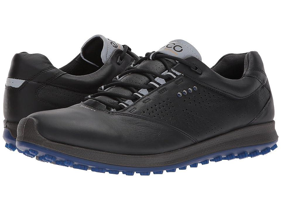 ECCO Golf BIOM Hybrid 2 Perf (Black/Bermuda Blue) Men