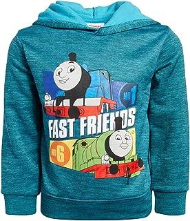 Nickelodeon Boys Fleece Sweatshirt Pullover Hoodie - Thomas The Tank Engine - Ninja Turtles - Blaze (Toddler/Little Boys)