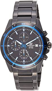 Casio Edifice Chronograph Black Dial Men's Watch - EFR-526BK-1A2VUDF (EX205)