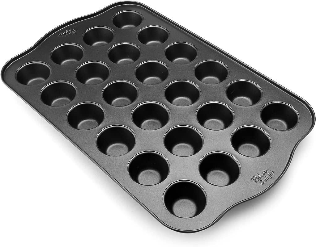 Baker S Advantage Nonstick Mini Muffin Pan 24 Cup