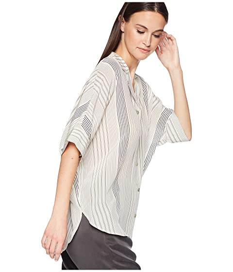 Collar Eileen Fisher Top Classic Bone qwrBSwEvx