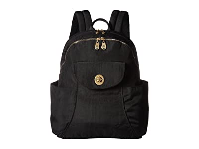 Baggallini Barcelona Laptop Backpack (Black) Backpack Bags