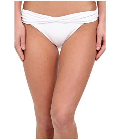 Seafolly Twist Band Mini Hipster Bottom (White) Women