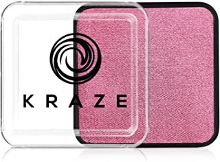 Kraze FX Square - Metallic Rose Face Paint (25 gm) - Hypoallergenic, Non-Toxic, Water Activated Professional Face & Body P...