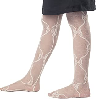34d093954 Fishnet Mesh Lace Little Girls' Tights – Fashionable Tights With Cute  Pattern