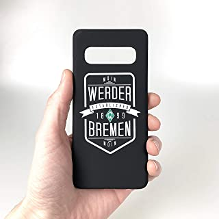 Werder Bremen - Wappen - Schutzhülle passend für das Samsung Galaxy S10 Black