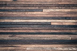 7x5 ft Retro Wood Wall Photo Backgrounds Brown Wooden Photography Backdrops Wrinkle Free Seamless Cotton Cloth