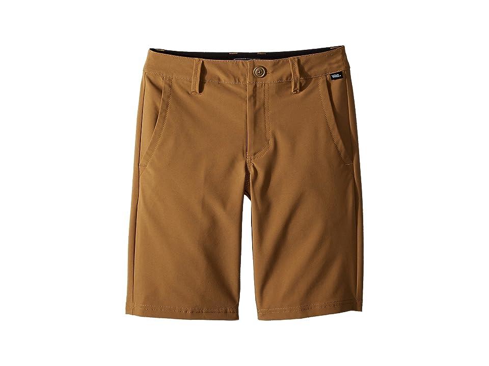 Vans Kids Authentic Decksider Boardshorts (Little Kids/Big Kids) (Dirt) Boy