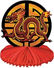 Fun Express - Cny Dragon Tissue Centerpiece for Chinese New Year - Party Decor - General Decor - Centerpieces - Chinese New Year - 1 Piece
