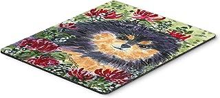 Caroline's Treasures SS8727MP Pomeranian Mouse Pad/Hot Pad/Trivet, Large, Multicolor