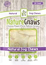 Nature Gnaws Wild Hare Ears (20 Count) - 100% Natural Dog Chew Treats