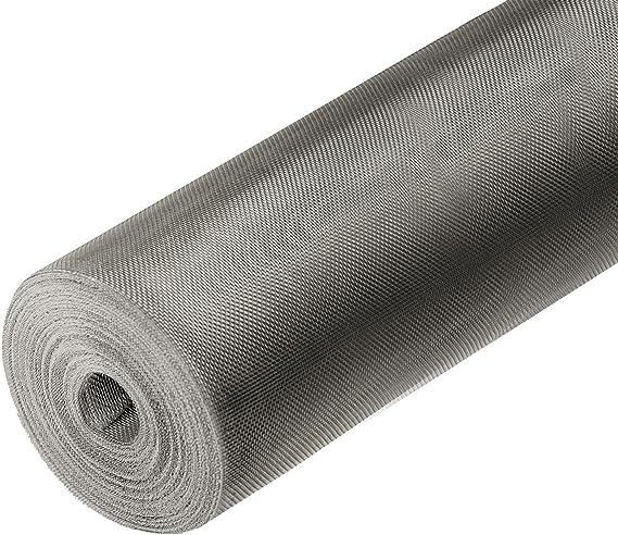 Breite: 150cm; Farbe: Schwarz; ONPIRA Fliegennetz aus Fiberglas Meterware Fliegengitter Insektenschutz
