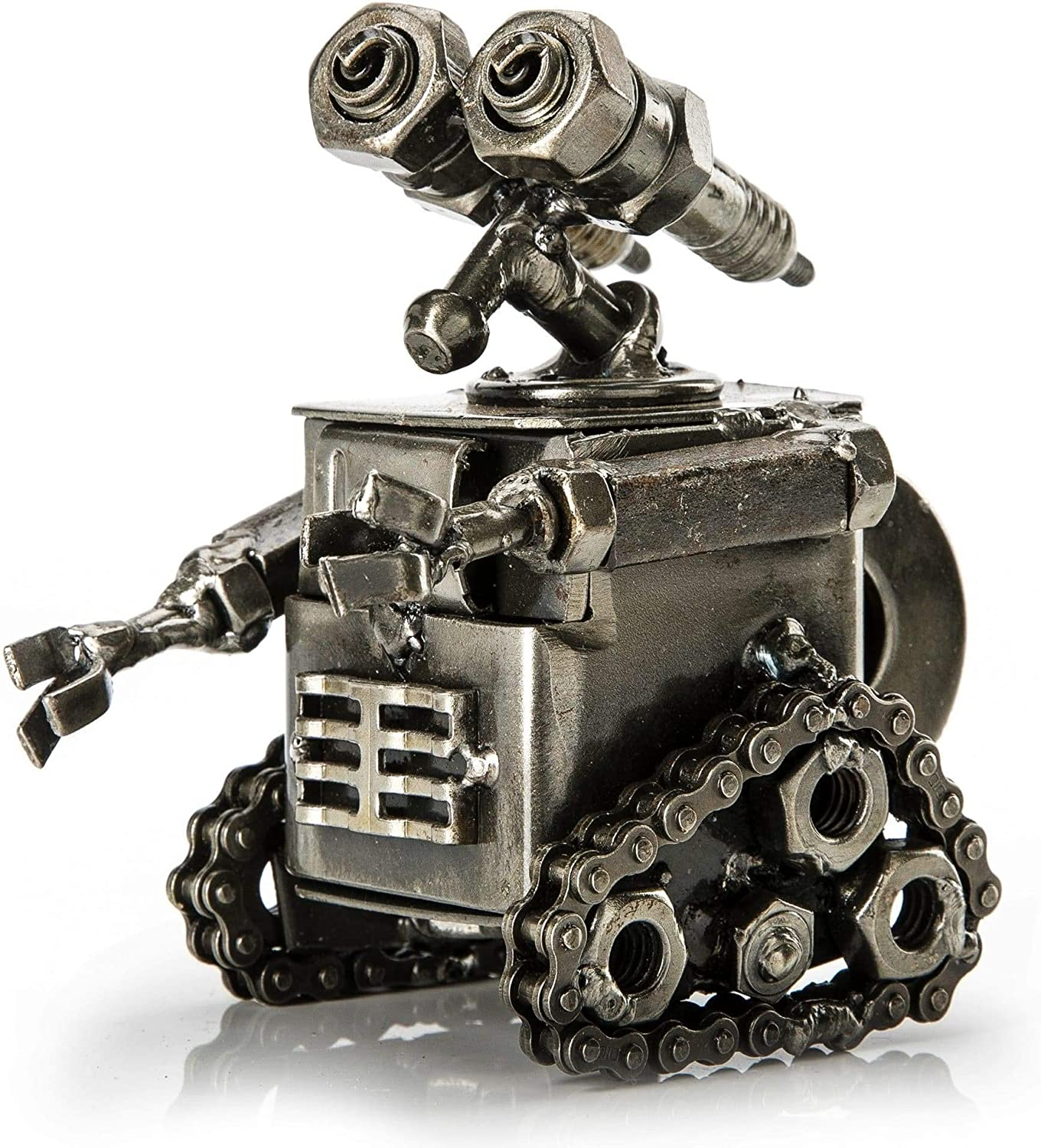 KALIFANO Wall-E Inspired Recycled Metal Sculpture Handcrafted fr