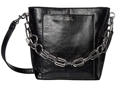 Vince Camuto Ivy Bucket (Nero) Handbags