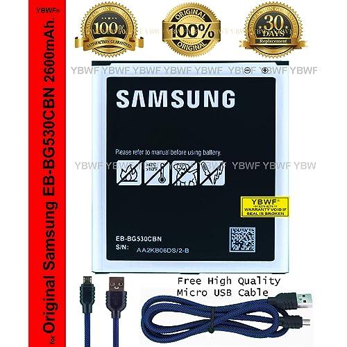 71b804b4d32f81 YBWF Care EB-BG530CBN BG530CBE 2600mAh Li-ion Battery for Samsung Galaxy  Grand Prime