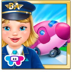 Real-life airport activities! Check-in passengers, X-ray luggage, fix the airplane and more! You be the pilot! Fly your very own airplane!