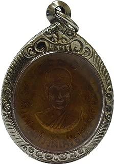 Amulets Thai Gift Phra Pidta Lord Buddha Lp Kaew Thai Lucky Gamble Rich Money Power Pendant
