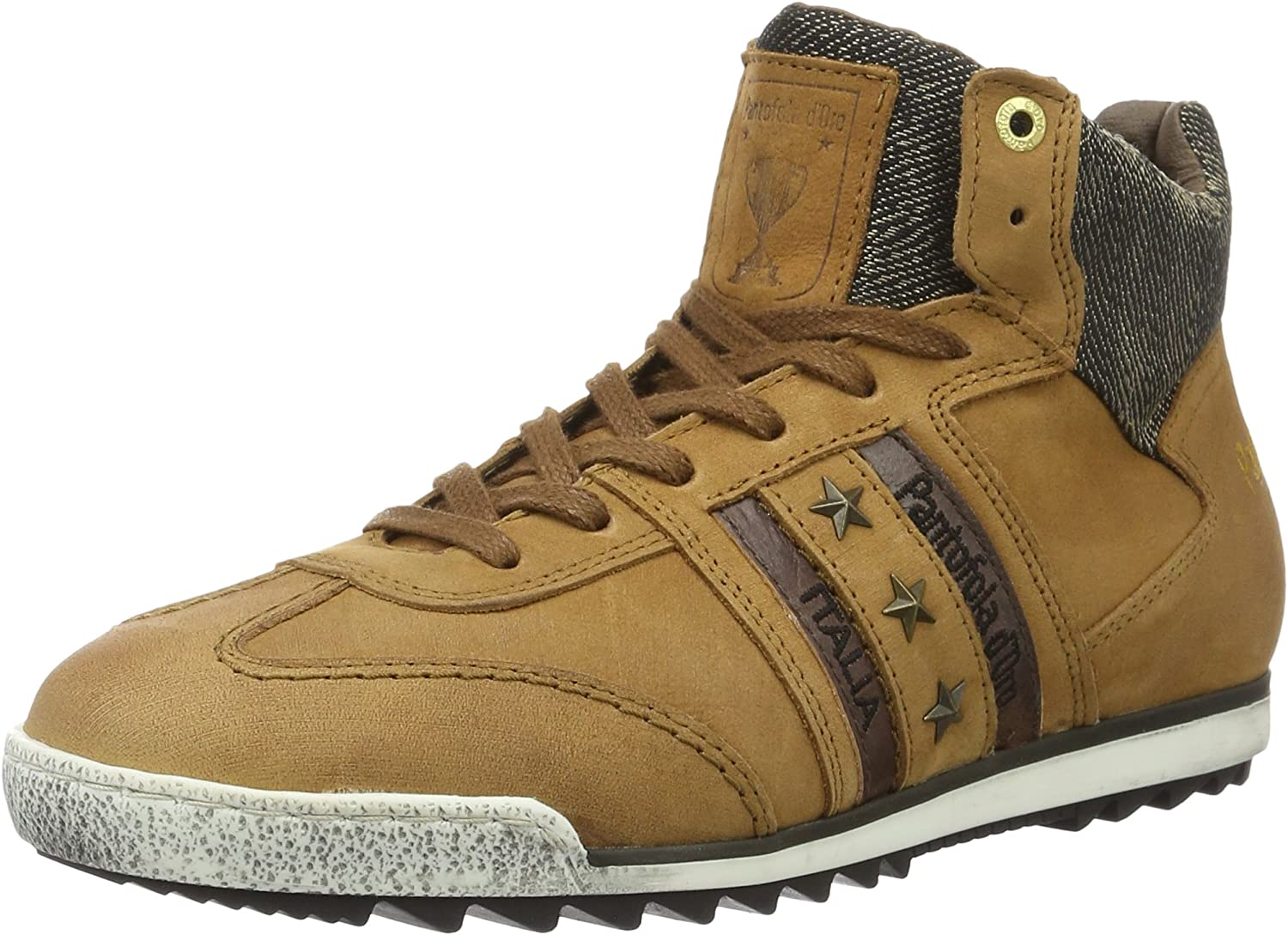 Pantofola d'gold Imola Jeans men Mid, Men's Low-Top Sneakers