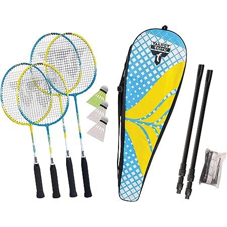 Talbot Torro 449407 - Set da badminton e piume, unisex, per adulti, taglia unica