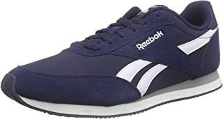 Reebok Men's Royal Classic Jogger 2 Trainers, Collegiate Navy/White/Baseball Grey