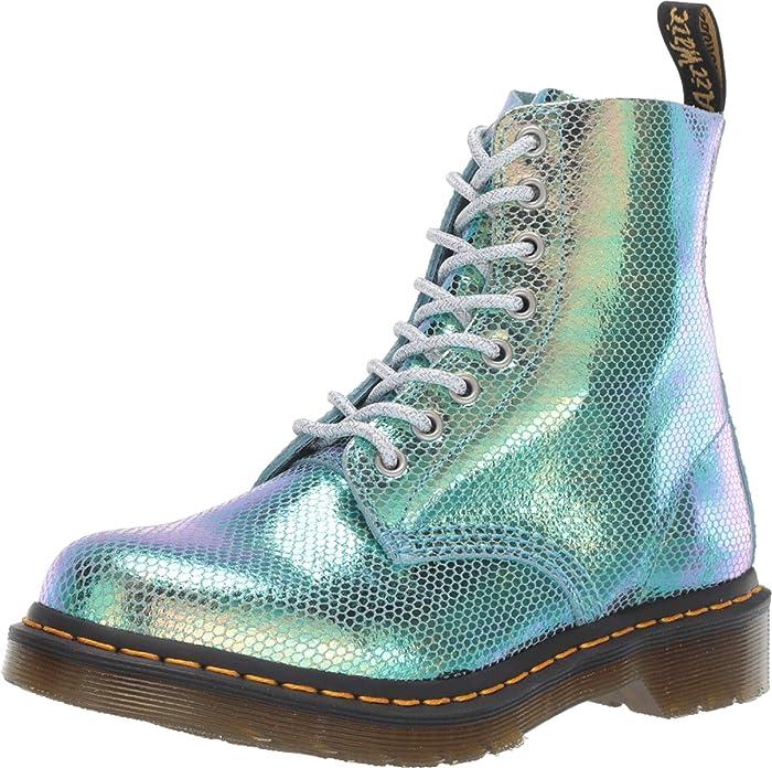 Dr Martens 1460 Pascal Women's Boots Gold Iridescent