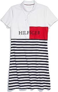 Tommy Hilfiger womens ADP W TULIP ST BANNER POLO DRESS Dress
