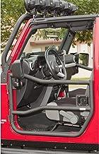 Rugged Ridge 11509.10 Black Textured Front Tube Doors for 2007-2018 Jeep Wrangler JK Models