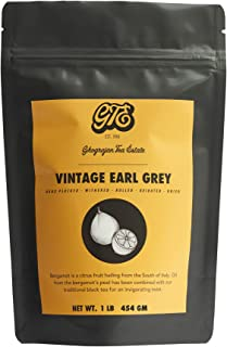 Loose Leaf Earl Grey Black Tea (200+ Cups) - Fresh 2019 Harvest - Directly Shipped From Our Family-Owned Estate in India - Blended with Organic Bergamot Oil Sourced From Italy - Bulk Pack