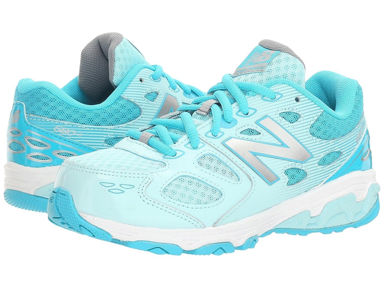 (ニューバランス) New Balance メンズランニングシューズ?スニーカー?靴 KR680v3 (Little Kid/Big Kid) Blue/White ブルー/ホワイト 1.5 Little Kid (20.5cm) W