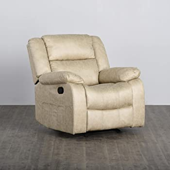 Home Centre Derby One Seater Recliner with Laptop Tray