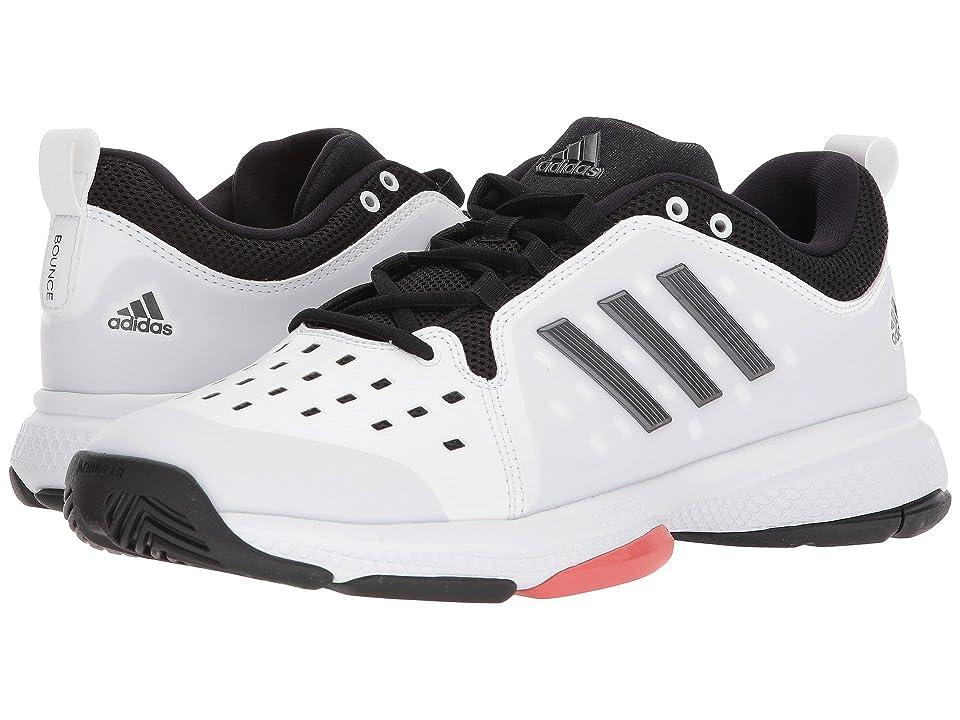 adidas Barricade Classic Bounce (White/Black/White) Men