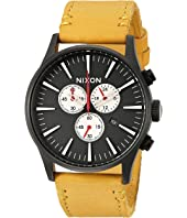 Nixon - Sentry Chrono Leather X Mountain Dweller Collection