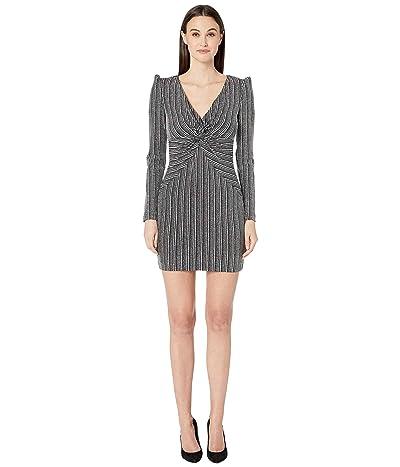 Rachel Zoe Poppy Dress (Silver/Black) Women