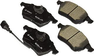 Bosch BC687A QuietCast Premium Ceramic Disc Brake Pad Set For Select Audi 100 Quattro, A4 Quattro, A6, A8, A8 Quattro, TT, TT Quattro; Volkswagen Beetle, Golf, Jetta; Front - coolthings.us