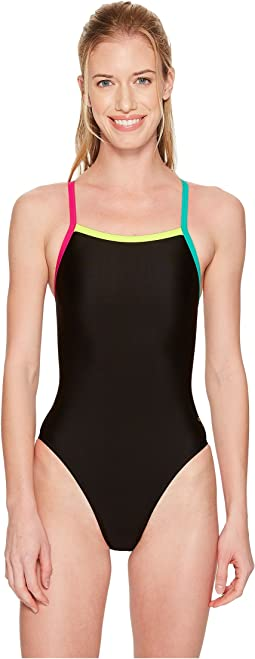 Speedo - Solid Propel Back One-Piece