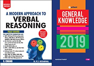 A Modern Approach to Verbal Reasoning Latest Edition 2018 S Chand Publication