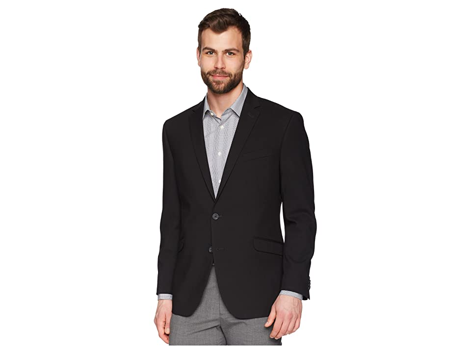 Kenneth Cole Reaction Techni-Cole Stretch Suit Separate Blazer (Black) Men