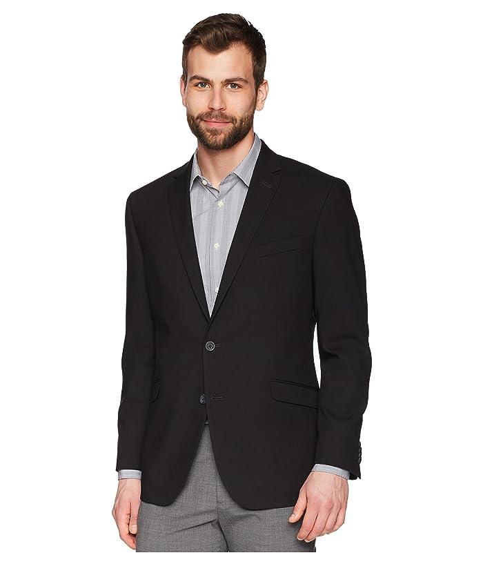 Kenneth Cole Reaction Techni-Cole Stretch Suit Separate Blazer (Black) Men